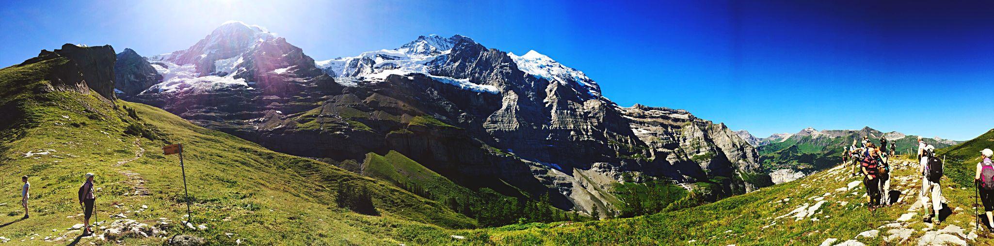 Taken with my phone... Kleine Shidegg Switzerland Switzerland Canonphotography Mountains Walking Sunnyday Nature Takenwithaniphone