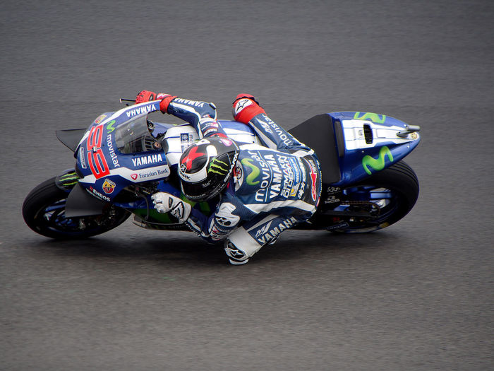 Competition Day JL Jl99 Jorge L. Lorenzo Motorsport Movistar No People Racecar Speed Sports Race Yamaha