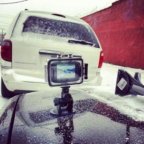 Doing everything possible to get that perfect moment. It could be 3 seconds long, it could be 2 hours long - none matters. All that matters is that, you captured that moment! Sharpshutters Ssimages Gearpro Newstuff snow newyork ny nyc brooklyn photographer