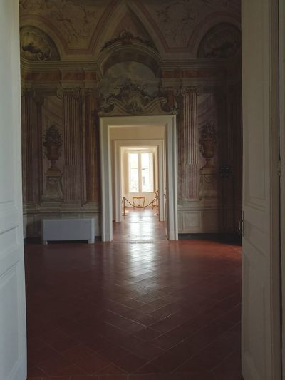 Italian Style.. Architecture Corridor Palace Indoors  Travel Destinations Day Places Art