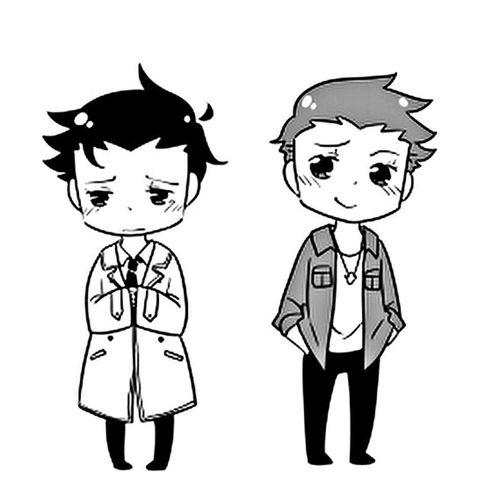 Supernatural <3 Castiel e Dean Destiel Supernatural Dean Winchester Castiel