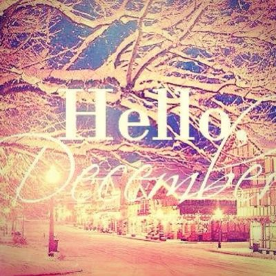 First Day Of December snow chrismas new year best time