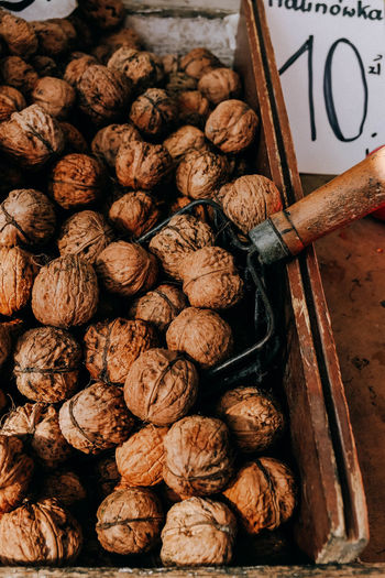 Walnuts for sale on the food market Walnut Walnuts Walnut Shell Walnuts For Sale For Sale Food Market Food And Drink Food Nut - Food Healthy Eating Market Brown No People