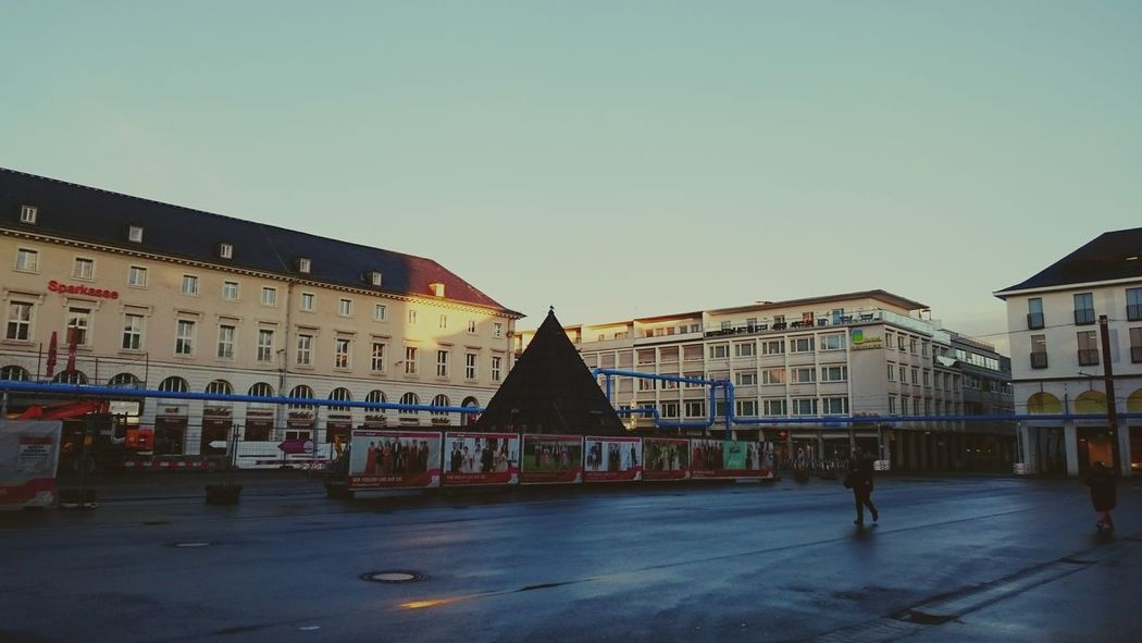 Karlsruhe Karlsruhe Marktplatz Karlsruhe Pyramide Karlsruher Lieblingsbaustelle 我好想念小卡鲁 Mir fehlt Karlsruhe