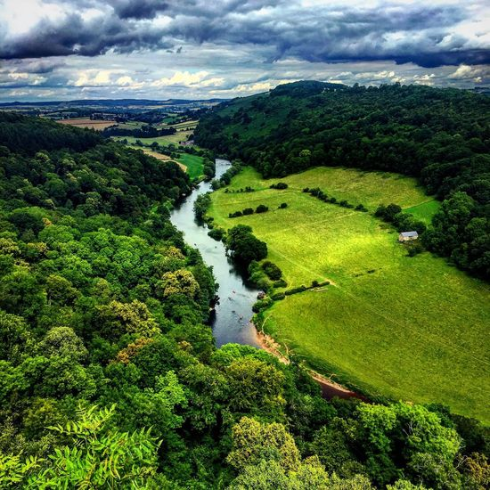 Water Scenics Tree Green Color Beauty In Nature Tranquil Scene Landscape River Non-urban Scene High Angle View Nature Lush Foliage Idyllic Cloud - Sky Sky Tranquility Green Remote Waterfall Cloud Symonds Yat Yat Rock River Valley A Bird's Eye View