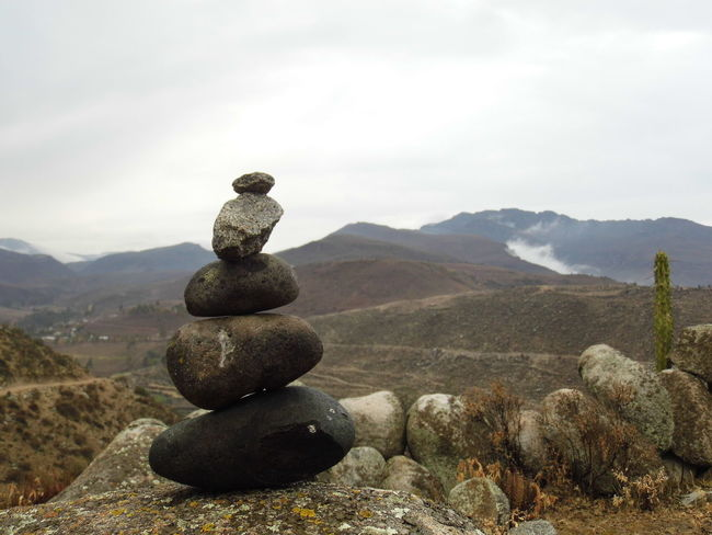 Balance Beauty In Nature Day Landscape Mountain Nature No People Outdoors Rock - Object Scenics Sky Stack Stone - Object Tranquil Scene Tranquility Zen-like TCPM