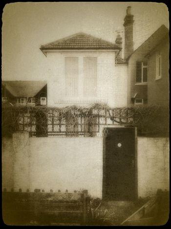 whitstable, kent Façade Monochrome Asymmetry Vintage Fx
