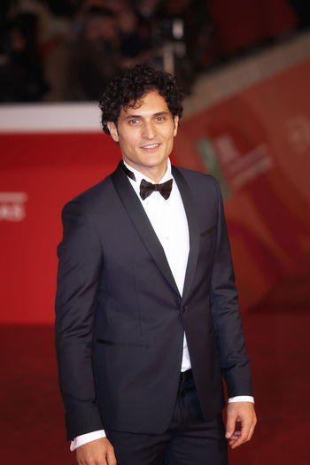 Rome, Italy - October 13, 2016: Rome Film Festival, Eleventh Edition. Red carpet with Moonlight pictured actor Alessandro Tersigni Moonlight Actor Alessandro Tersigni Beatiful Man Fractals Italian Actor Italian Men Joung Man Men Moonlight Film MOVIE Red Car Rome Film Festival