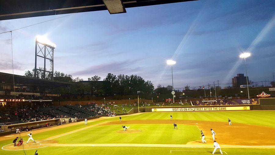 Night Baseball Game