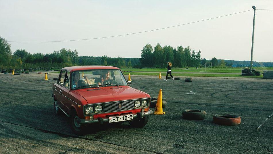 LADA Vaz Car Old
