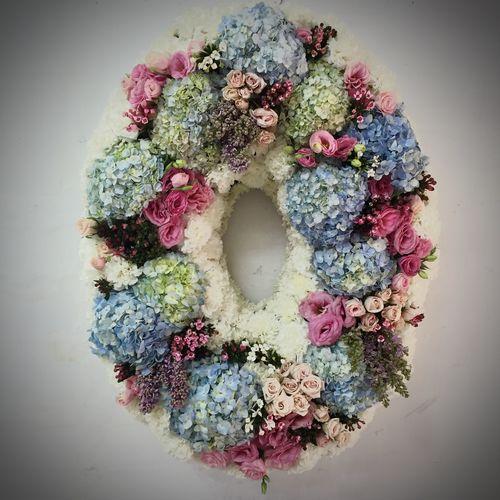Wreath Wintagecafe Flowers