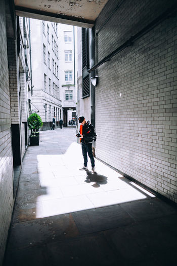 #TB to shooting in London with the boy @henryhwu Architecture Camera - Photographic Equipment Check This Out City City Life Colors Exploring EyeEm EyeEm Best Shots London Taking Photos Architecture Building Exterior Built Structure City Day Full Length Light And Shadow One Person Outdoors Real People Streetphotography Urban