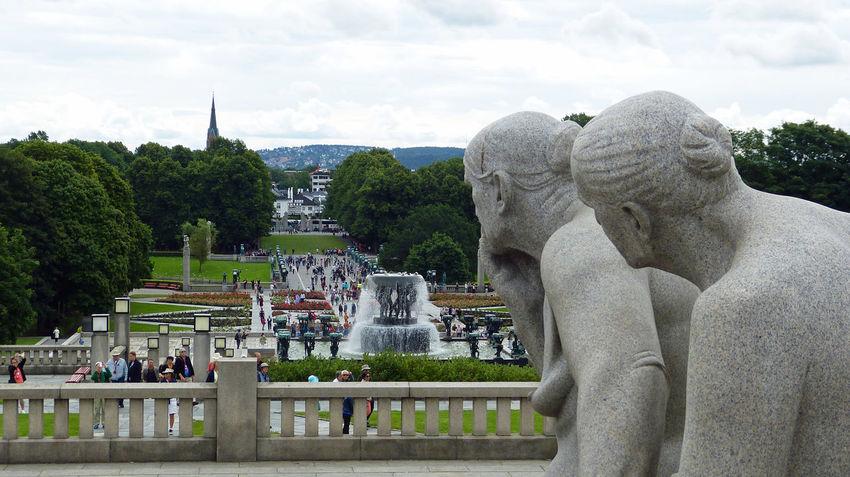 Taken at Frogner Park in Oslo Norway Art Frogner Frogner Park Frognerparken Monolith Norway Oslo Oslo Norway Park Scandinavia Scandinavian Statue