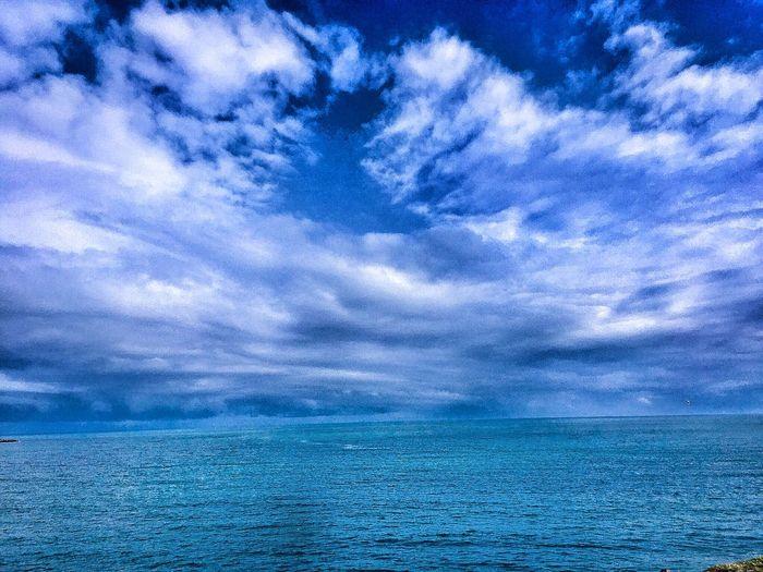 Bulut☁ Bulutlar Deniz Huzur Gokyuzu Sea Hello World