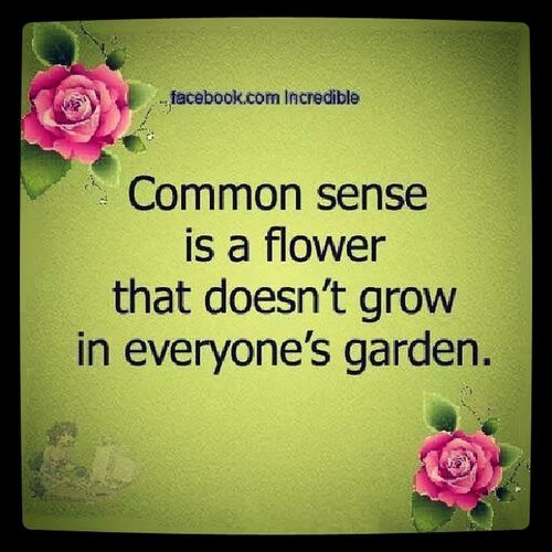 Too true. Some folks don't have a green thumb. Instapic Instadaily Instagram Instasayings InstaQuotes Commonsense Wisdom Gardening Flowers Instaflowers