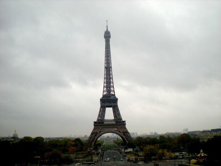 Architecture Capital Cities  Famous Place International Landmark Paris Tall Tour Eiffel Travel Destinations Lamdscapes With Whitewall