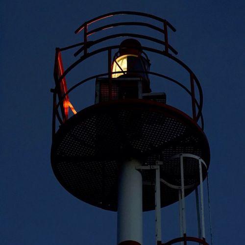Good Night Goodnight Gutenacht Dunkelheit Darkness lighthouse leuchtturm navigationalsign seezeichen licht light northsea nordsee list sylt hafen harbor harbour