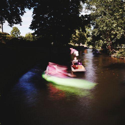 Canoe vs Punt