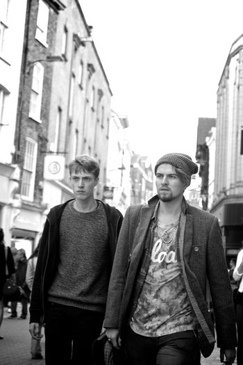 Street Photography People Walk Monochrome