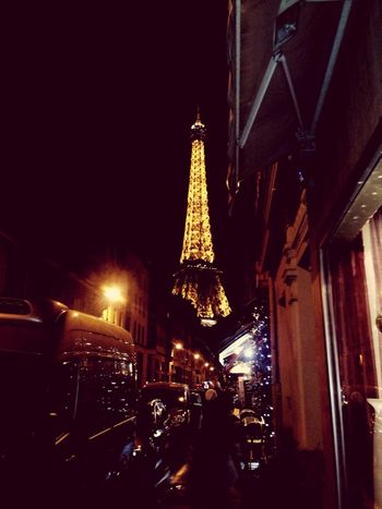 """""""Oh Paris - how long I dream of thee. Romance is all around, my love affair - I just arrived"""" -Gj.Q Photooftheday Original Photo Quote Gj.Q Paris Affletower Lights City Copyrighted"""