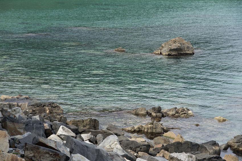"famous seaside called ""Badabuchaegil"" at Jeongjdongjin in Gangreung, Gaongwondo, South Korea Badabuchaegil Gangreung Jeongdongjin Beauty In Nature Day Nature No People Outdoors Rock - Object Scenics Sea Seaside Tranquil Scene Tranquility Water"