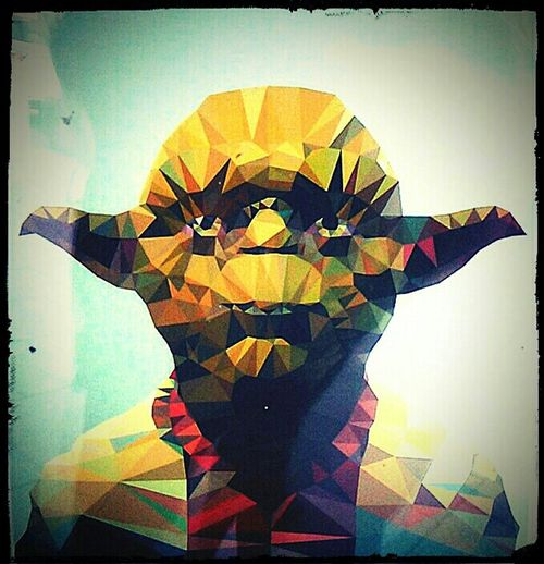 Yoda Master Yoda 'Master' Yoda Yoda, The Master Art Star Wars Art. Check This Out ArtWork May The Force Be With You