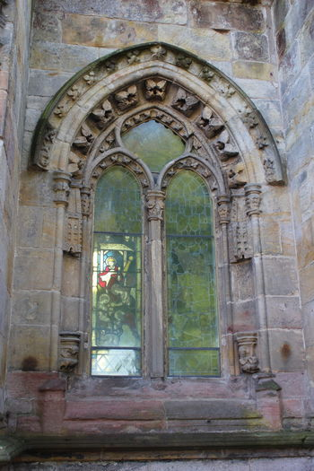 Arch Architecture Building Exterior Built Structure Day Door Edinburgh Entrance No People Outdoors Rosslyn Chapel Scotland Window