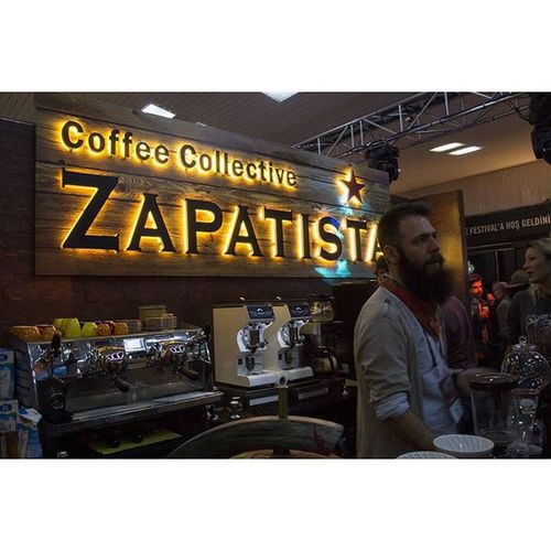 Coffee Istanbulcoffeefestival Istanbul Istanbuldayasam festival coffee kahvefestivali istanbulkahvefestivali zapatista