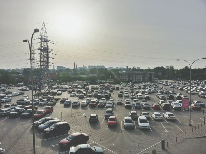 Russia Parking Cars