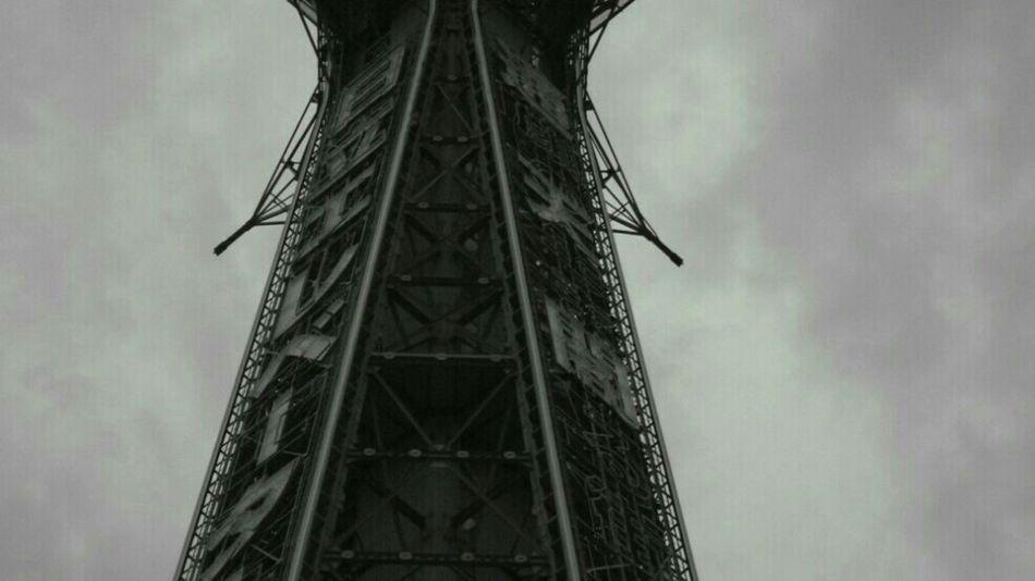 Monochrome Tower Osaka,Japan Black & White