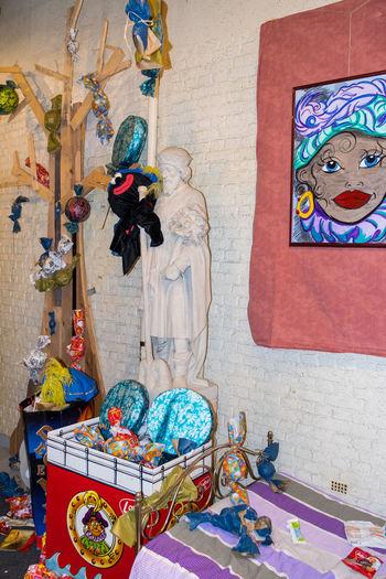Saint Nicolas Toys Indoors  Multi Colored No People Saint Gummarus Toy
