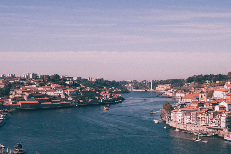 Old Town Porto Porto Portugal 🇵🇹 Portugal Portuguese River View Riverside Sunny Travel Architecture Boat Bridge Building Exterior City Day No People Outdoors River Sky