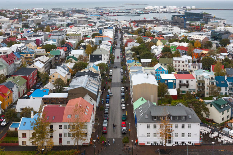 Love EyeEmNewHere Iceland Roof Architecture Building Exterior Built Structure City Cityscape High Angle View House Outdoors Residential Building Town Road Street The Week On EyeEm EyeEm Selects EyeEm An Eye For Travel Go Higher Adventures In The City #urbanana: The Urban Playground Streetwise Photography