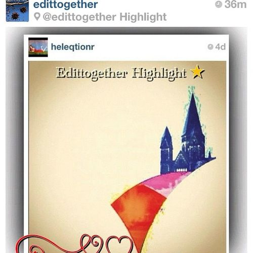 Come, let's #edittogether !!! I wanted to thank the nice folk edittogether for featuring my edit as their first ever feature (yay!) by inviting all the talented pair of eyes who read this to come join the fun! Why wait? Go to edittogether & add them now Editing Edit Edited Edition Editorial  Editfever Editoftheday Editjunky Edittogether
