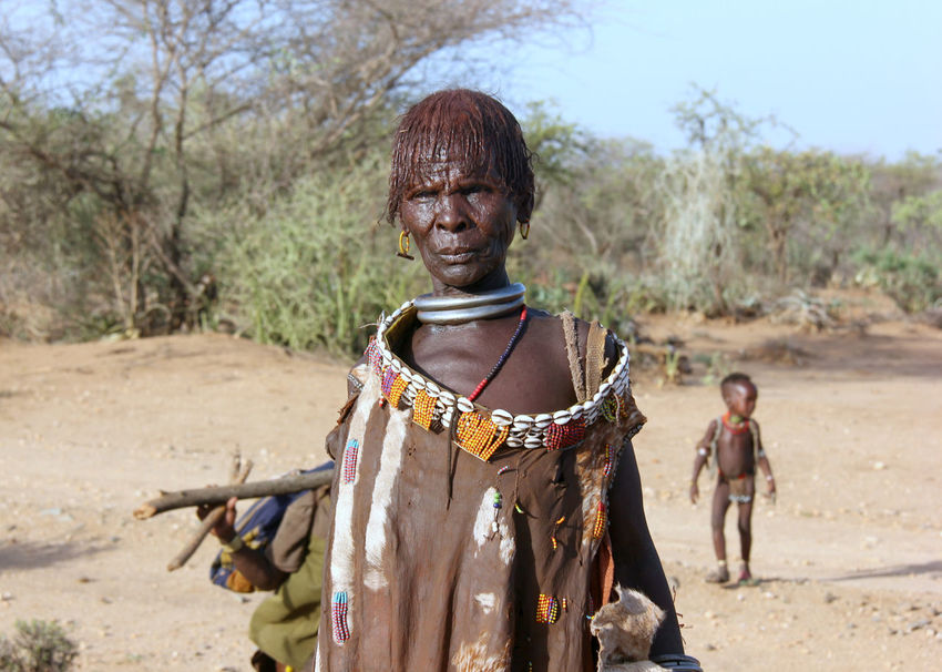 Africantribe Africanwoman Animal Themes Arid Climate Day Desert Domestic Animals Ethiopia Ethiopianwoman EyeEm Selects Focus On Foreground Hamertribe Hamerwoman Indigenous People Mammal Nature Omovalley One Person Outdoors Real People Sand Tribeswoman Young Adult