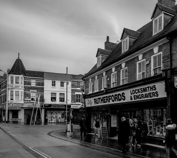 Rutherfords, Market Street, Wellingborough, Northamptonshire Architecture Street Wellingborough Northamptonshire Urban Monochrome Black And White Monochrome Photography Town FUJIFILM X-T2 Architecture