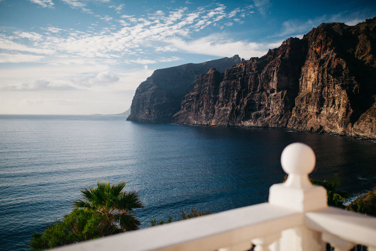 Ocean view AirBnB EyeEm Selects Holiday Ocean View SPAIN Sigma TeamCanon Bay Beauty In Nature Cliff Cloud - Sky Gigantes Mountain Nature No People Ocean Outdoors Rock - Object Scenics - Nature Sea Sky Tenerife Tranquil Scene Travel Destinations Water