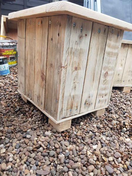 handmade My Job Work From Home Hobby Craft Wooden Recycled Love What I Do Planter Box My Passion Wood - Material Business Finance And Industry Close-up Pebble Stone
