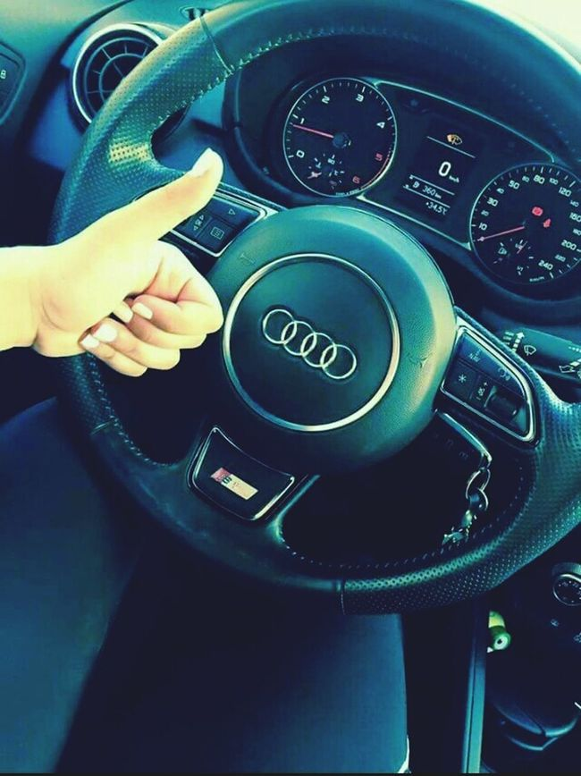 Audi ♡ I Love It ❤ On The Road In My Car