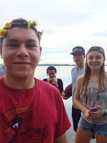 Just some red neck kids hanging out by the lake Country Redneck Funnn Lake
