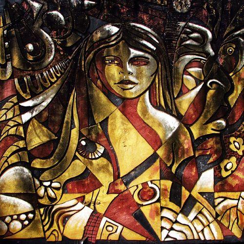 Arte Relieve Textura Color Colors Peoples Great_captures_paraguay Ciudaddeleste Street