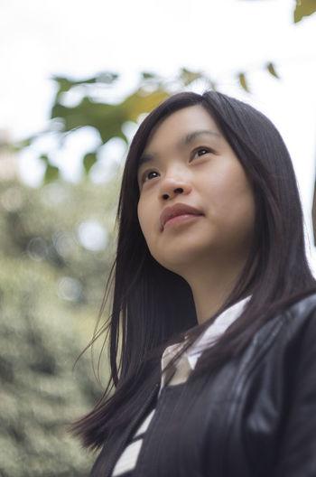 Portrait Color Portrait Girl Taking Photos