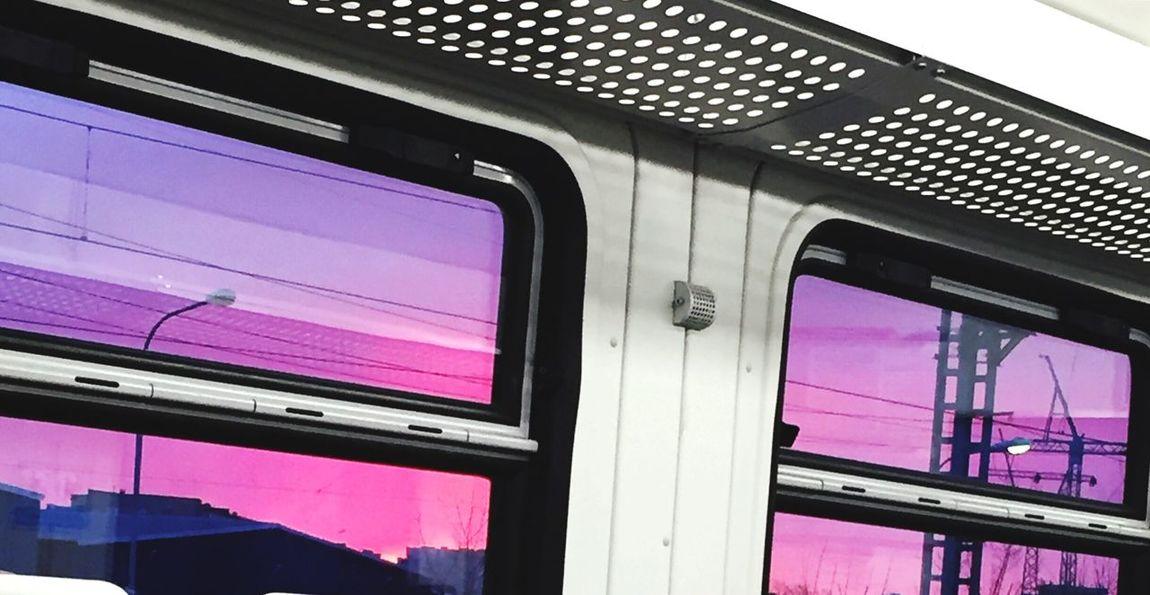 Закат розовоенебо небо Sky