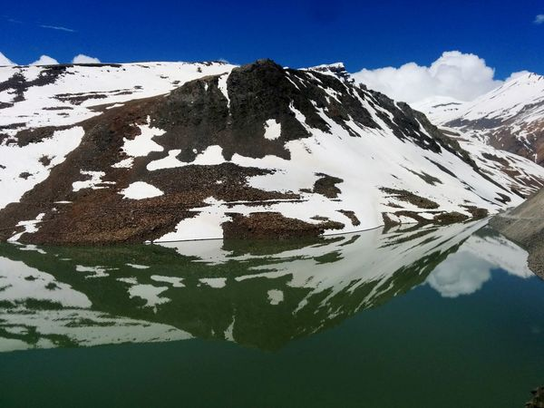 Suraj Tal Lake Beautiful View Leh Ladakh.. Protecting Where We Play