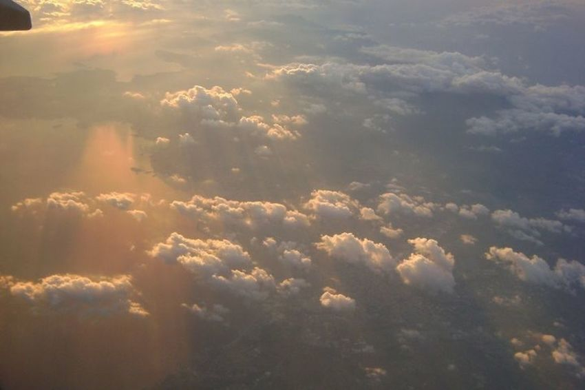 Traveling Clouds And Sky Sunset Flying Europe Me Around The World Plane Clouds Sea Eye4photography