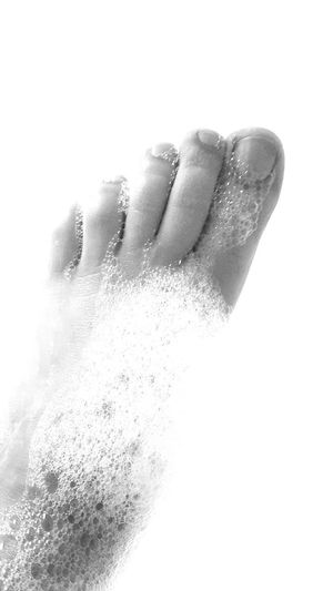 Human Body Part Washing People One Person Water Greys Black & White Photography Wet Ground Bath Women Relax Art Is Everywhere Selective Focus Body Care Bathroom Bath Time Having Fun Freshness Feet In The Water Feet
