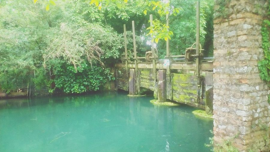 Water Dam Green Color Water Nature Day Outdoors No People Building Exterior Photography Manmadedam