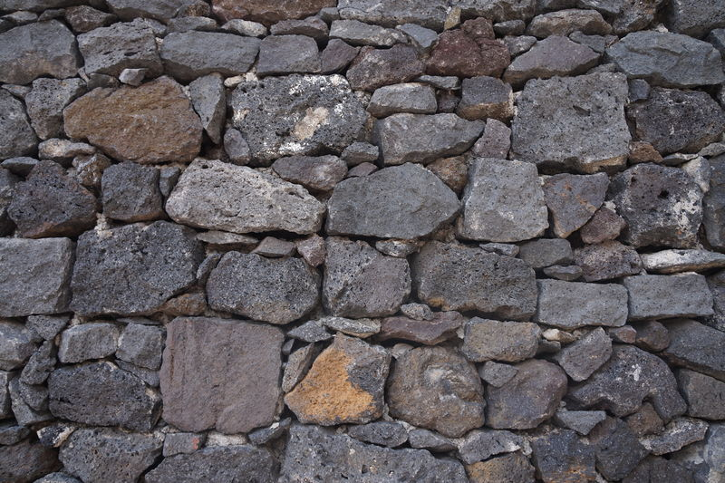Architecture Backgrounds Building Exterior Built Structure Close-up Day Full Frame Gray Nature No People Outdoors Pattern Rough Stone Material Textured  Volcanic Stone