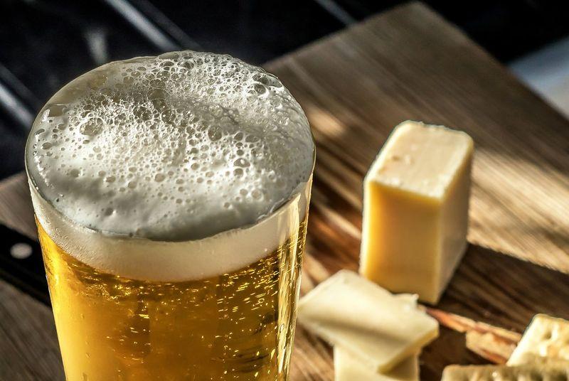 Liquid Lunch Beer Beverage Suds Libations Libation Brew Pilsner Draft Beer Frosty Mug Snack Frothy Brew Craftbeer Craft Beer Tabletop Showcase: February Yum Stout IPA Happy Hour Thirst Umami Food Stories