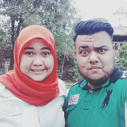 With my 'mama menakan' . ★ Kenduri Nisa Mar Polo shirt scaft boy girl selfie vsco first edit